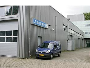 Pand LG Motorenrevisie Amsterdam